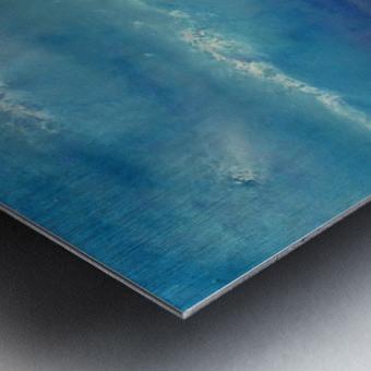 Infinity Beyond The Blue Metal print