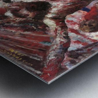 Red Christ by Lovis Corinth Metal print