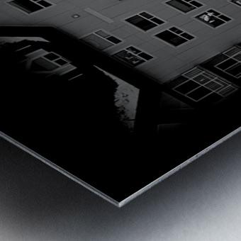 Building and Bridge Metal print