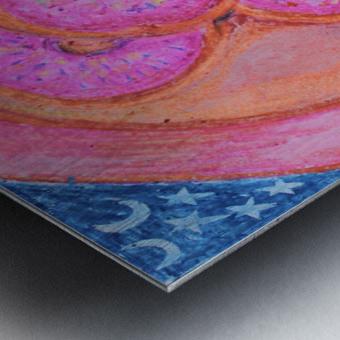 Pinkdoughnuts Metal print