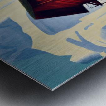 Valais Switzerland Metal print