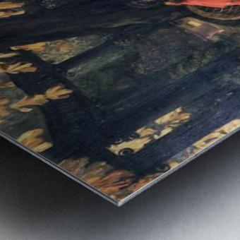 The end by Tissot Metal print