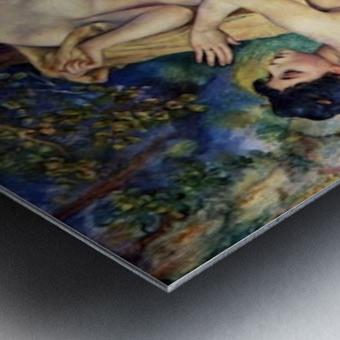The Large Bathers by Renoir Metal print