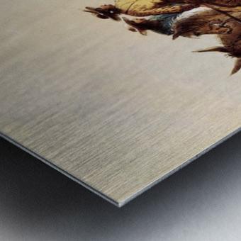 Indian guide Metal print