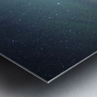 Stockade Lake and The Milky Way Metal print