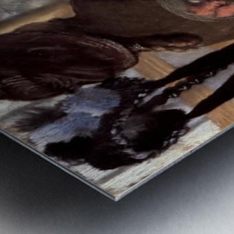 The milliner 1 by Degas Metal print
