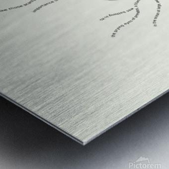 Incensed Metal print