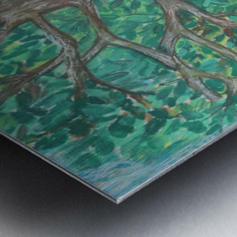treewalk Metal print