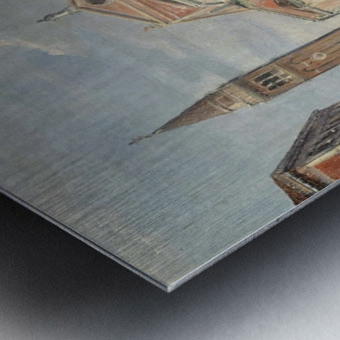 A Venetian square Metal print