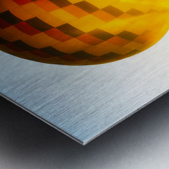 Look Into The Sun Metal print