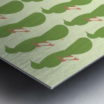 Rufus -Bellied ChaChalaca Metal print