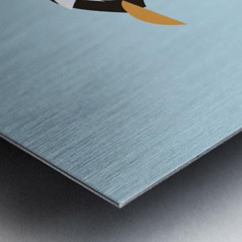 Gento Penguin Metal print