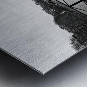 Wooden landscape Impression metal