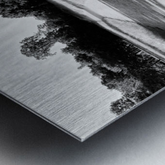 Public bench  Impression metal