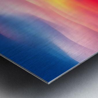 Abstract Movement XVIII Metal print