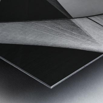 Abstract Sailcloth 13 Metal print