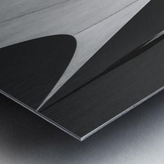 Abstract Sailcloth 10 Metal print