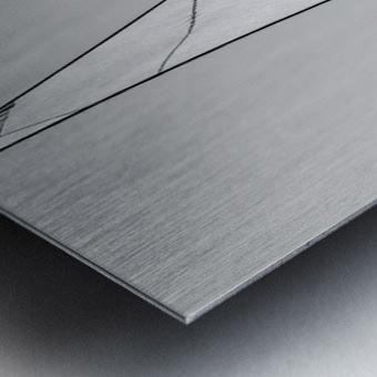 Abstract Sailcloth 18 Metal print