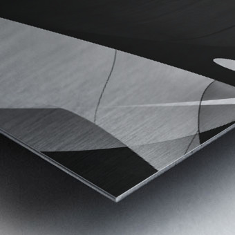 Abstract Sailcloth 4 Metal print