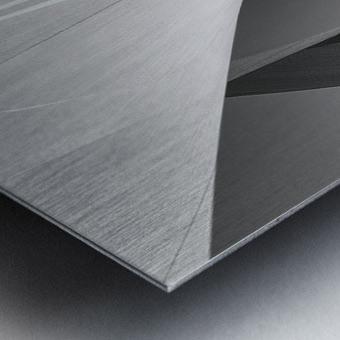 Abstract Sailcloth 1 Metal print