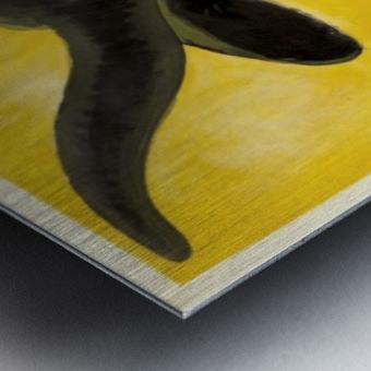 Bouillon Kub Metal print