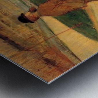 Tristan Bernard by Toulouse-Lautrec Metal print