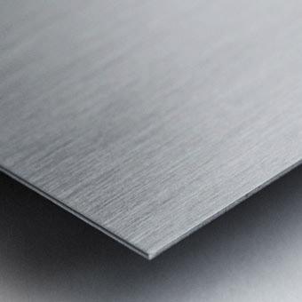Simple Twist Of Wire Metal print