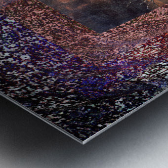Tree Layers 4 Metal print