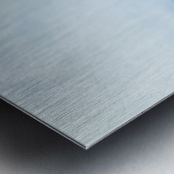 Midsummer Cornfield Metal print