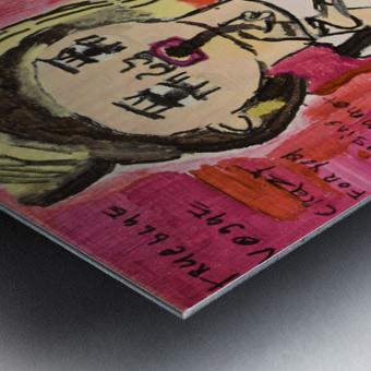Madonna. Rick F Metal print