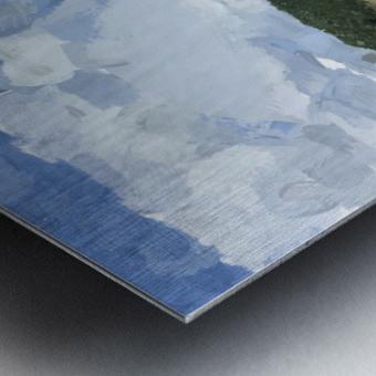 Clouds Over Parkton Metal print