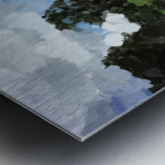 Garden Folly at Winterthur Metal print