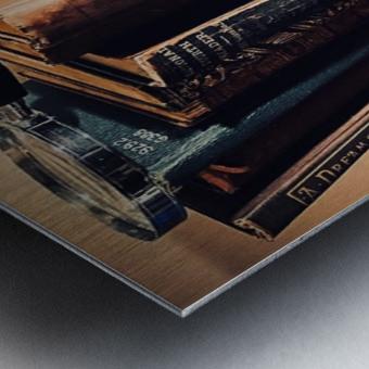 Studious Metal print