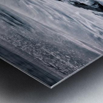 Ice Blue Metal print