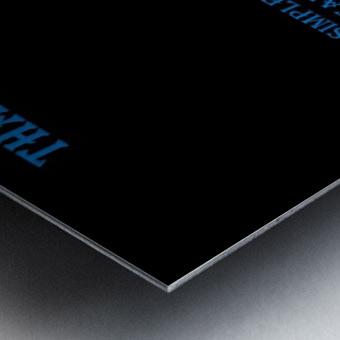 18.The Simple Word of Metal print