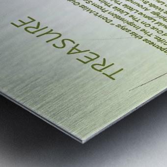11.TREASURE  2  Metal print