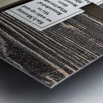7.ONCE UPON A TIME  2  Metal print