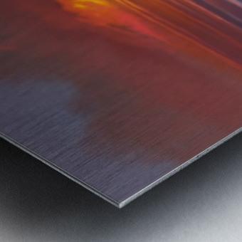 Blazing Skies Metal print