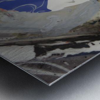abstract women Metal print