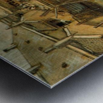 Workshop by Van Gogh Metal print