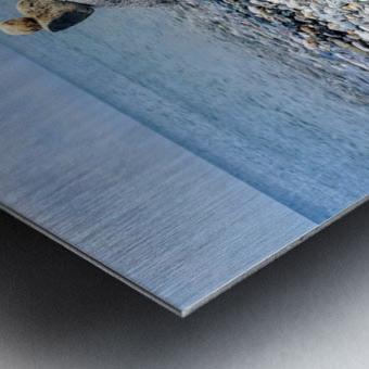 Llandundo beach Metal print