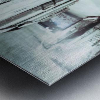 Solitary Metal print