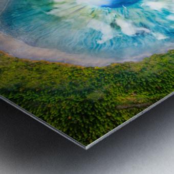 Dream Art XIX Surreal Eye Lake Metal print