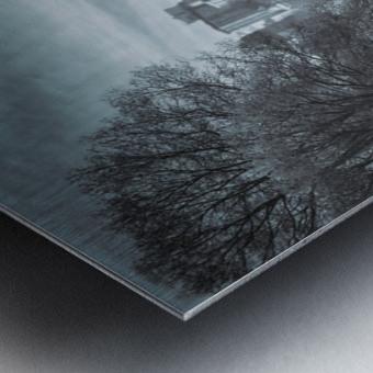 On The Lake Metal print
