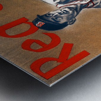 1960 Boston Red Sox Remix Art Metal print
