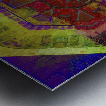 Aztec Dreaming Metal print