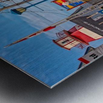Cheticamp - Main Street Metal print