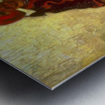 Zouave by Van Gogh Metal print