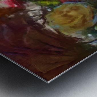 Flowers of Wonderland Metal print