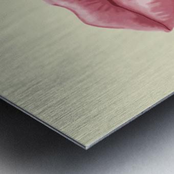 Shhh Metal print